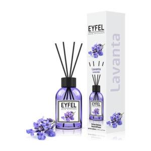 Parfum de camera cu betisoare, Aroma Lavanda, 110ml, EY20